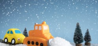 Snow Plows, Salt Trucks and Sanders, Oh My!  Three Tips to Ease The Stress of Sharing The Roads With Maintenance Vehicles This Winter